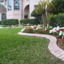 Garden edging Kwik Kerb